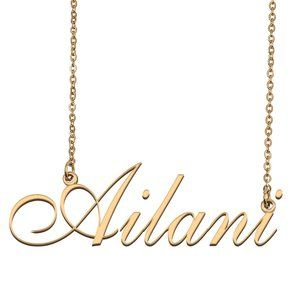 Custom Personalized Ailani Name Necklace